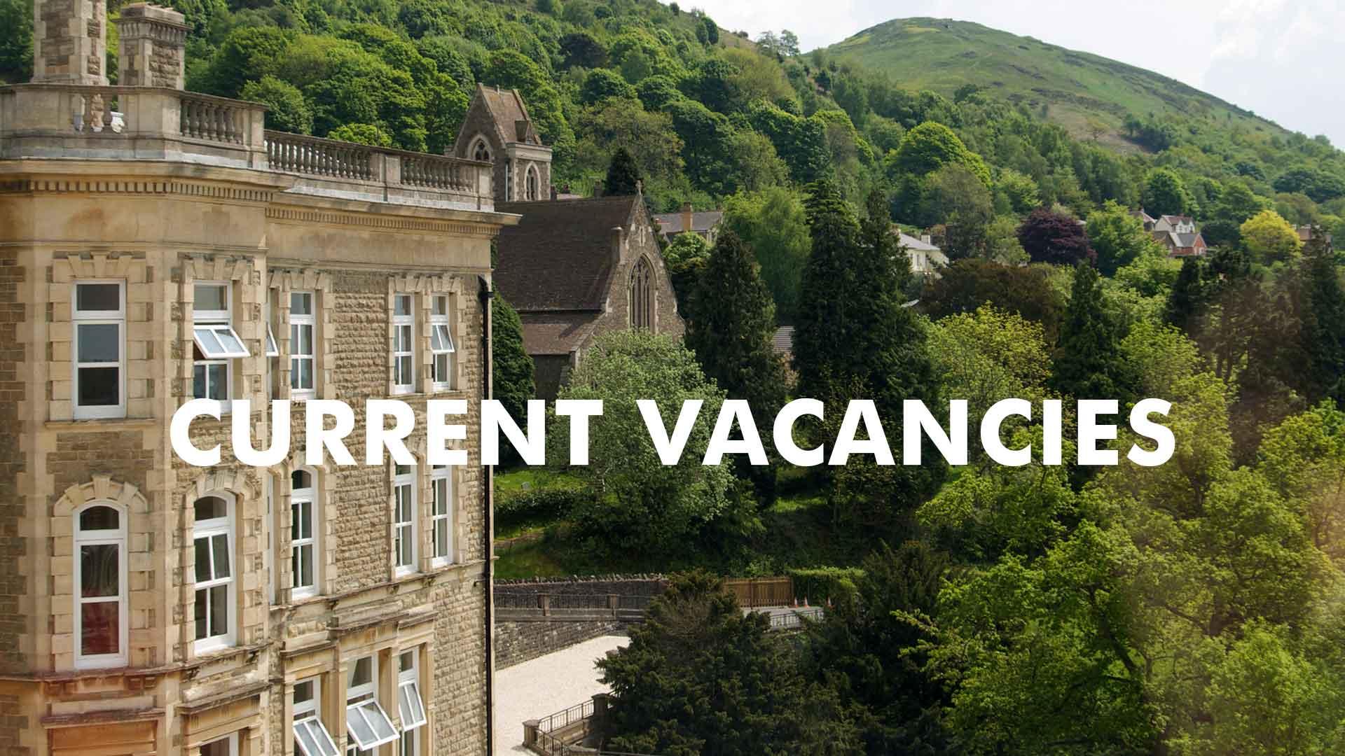 Current vacancies at Elim International Centre