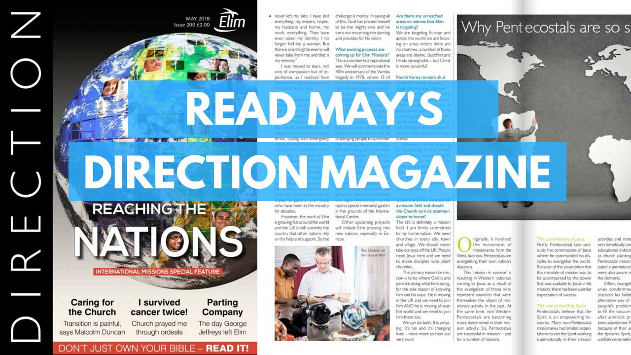 May's Direction - Reaching the nations!
