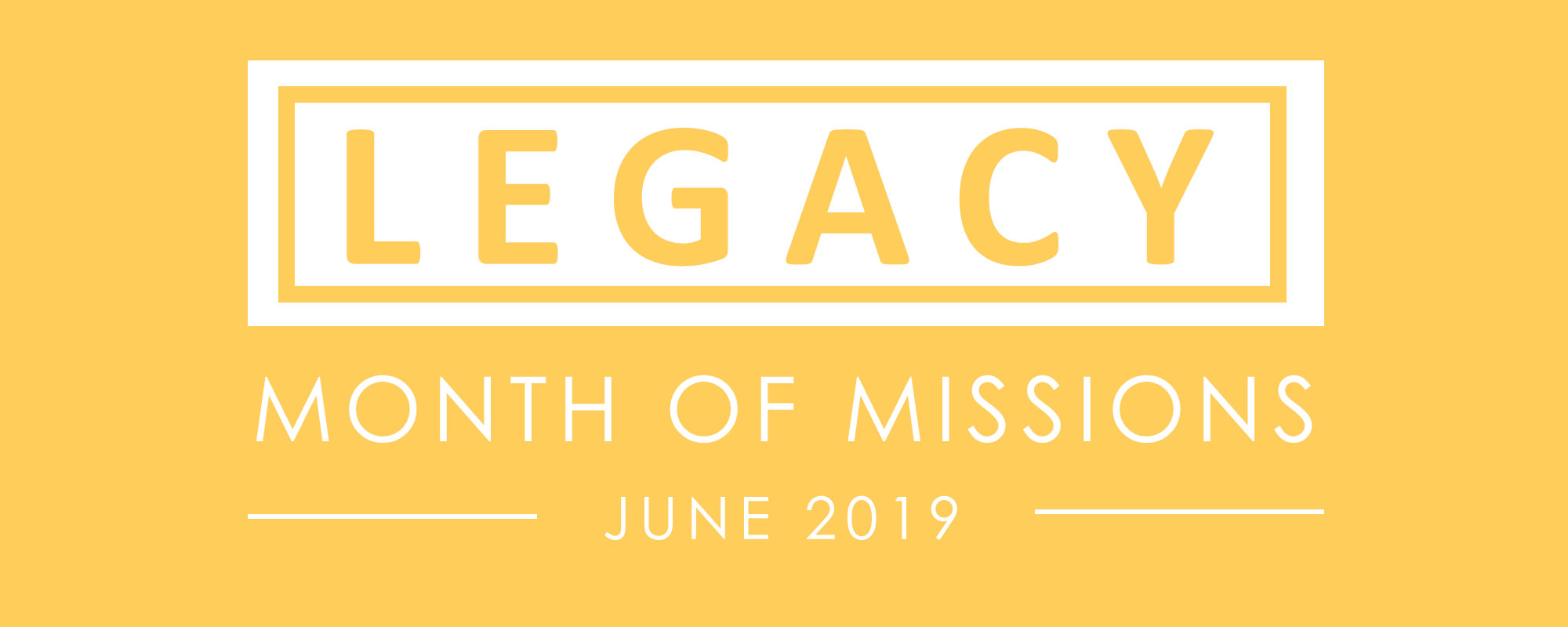 Month of Mission